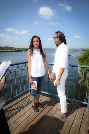 Keisha and Stacey